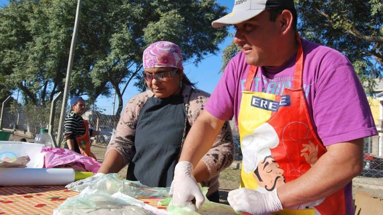 Concurso de tortilla a la parrilla (Municipalidad de Malvinas Argentinas)