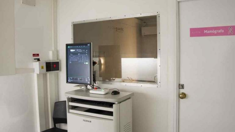 CAMPAÑA. El mamógrafo que recorrerá todo el país (Foto Avon).