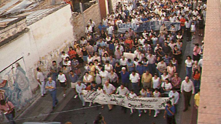 CATAMARCA. Hubo más de 70 marchas del silencio para exigir justicia (La Voz / Archivo).