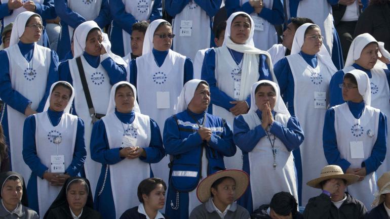 FRANCISCO EN MÉXICO. Llamó el martes a sacerdotes y monjas a no paralizarse ni resignarse ante la violencia y el narcotráfico (AP)