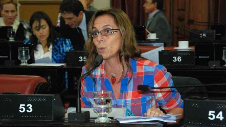 LILIANA MONTERO. La legisladora que realizó el pedido de jury (La Voz/Archivo).