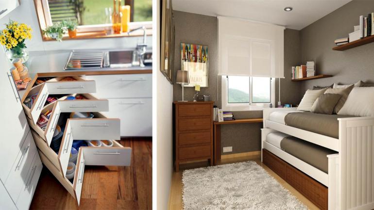 C mo aprovechar al m ximo los espacios de tu casa for Sillones para departamentos pequenos