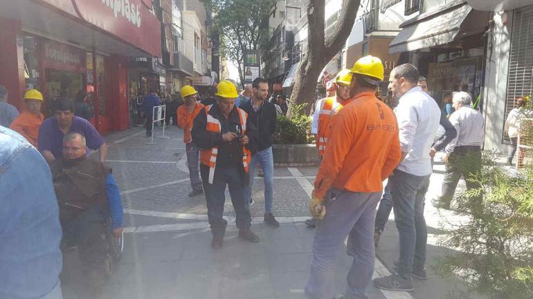 PEATONAL 9 DE JULIO. Las obras complican a los comerciantes (La Voz).