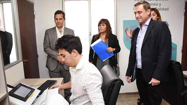 El intendente Ramón Javier Mestre se muestra satisfecho con esta iniciativa. (Municipalidad de Córdoba)