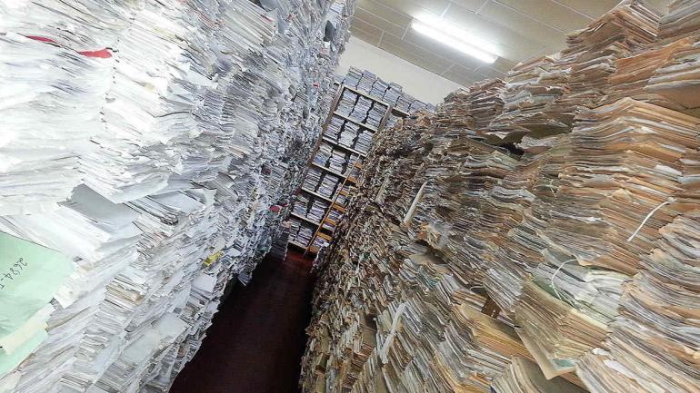 Miles de archivos y documentos esperan ser digitalizados. (Municipalidad de Córdoba)