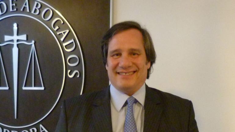 Luis Palomino (Gentileza Colegio de Abogados de Córdoba)