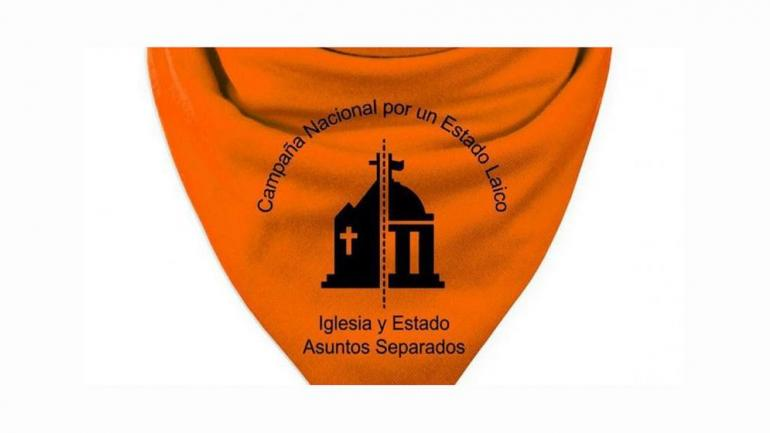 ORANGE SCARF. It is used by those who demand a separation between Church and State.