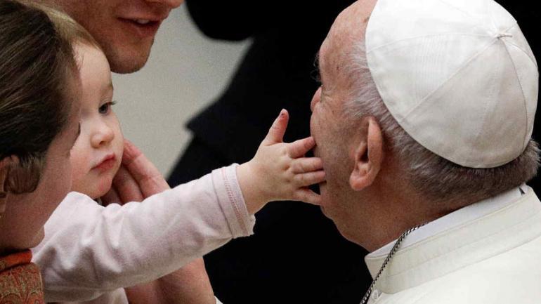 FRANCISCO. Iniciará el 15 de enero una visita papal en Chile (AP/Archivo).