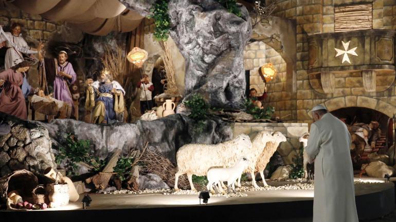ROMA. Francisco oficiará una misa el domingo 1° de enero (AP).