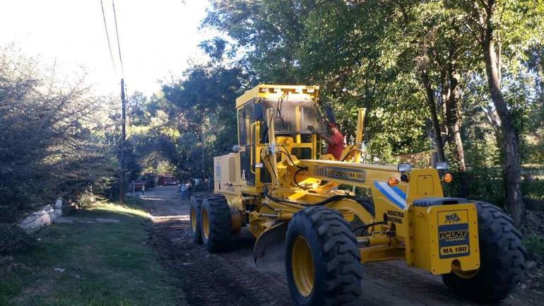 La Municipalidad logró adquirir nuevos vehículos y diferentes equipamientos para mejorar las tareas diarias de trabajo. (Municipalidad de Río Ceballos)