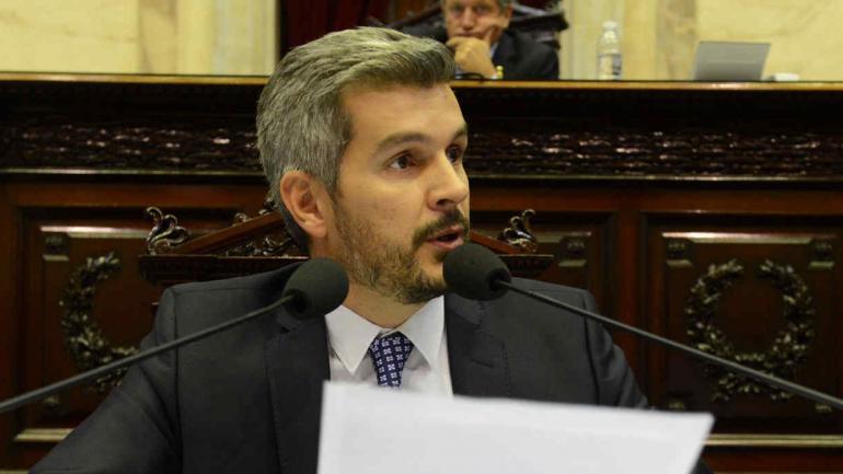 PEÑA. En Diputados (Presidencia de la Nación).