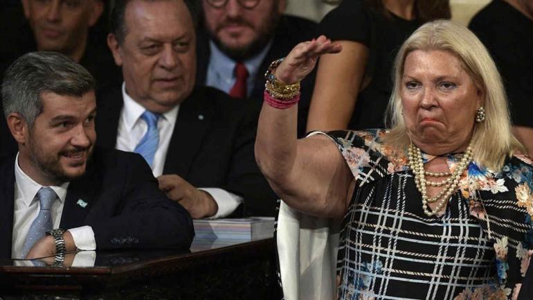 ARGENTINA. Peña opinó sobre los dichos de Carrió (Clarín).