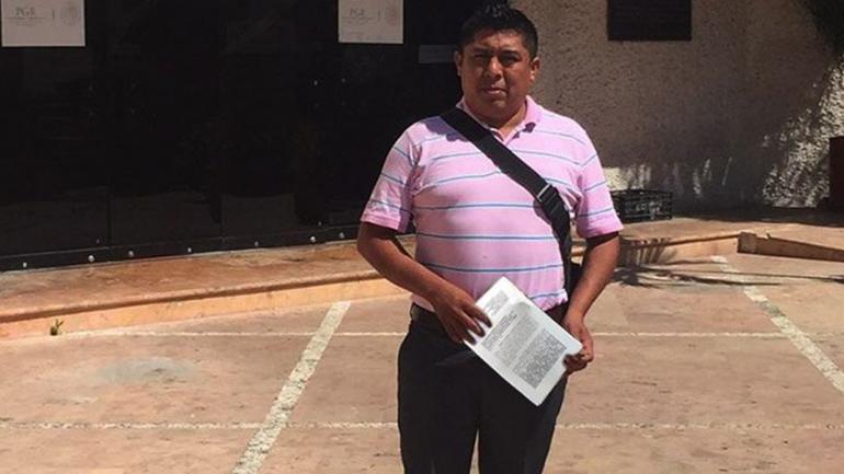 MÉXICO. Rubén Pat Cauich, elperiodista asesinado (Foto de Facebook Playa News).