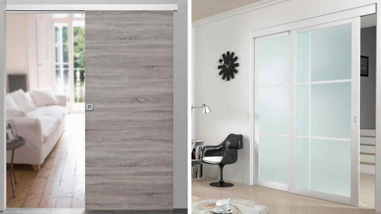 Ten s espacios reducidos las puertas corredizas pueden for Puertas de vidrio corredizas para exteriores