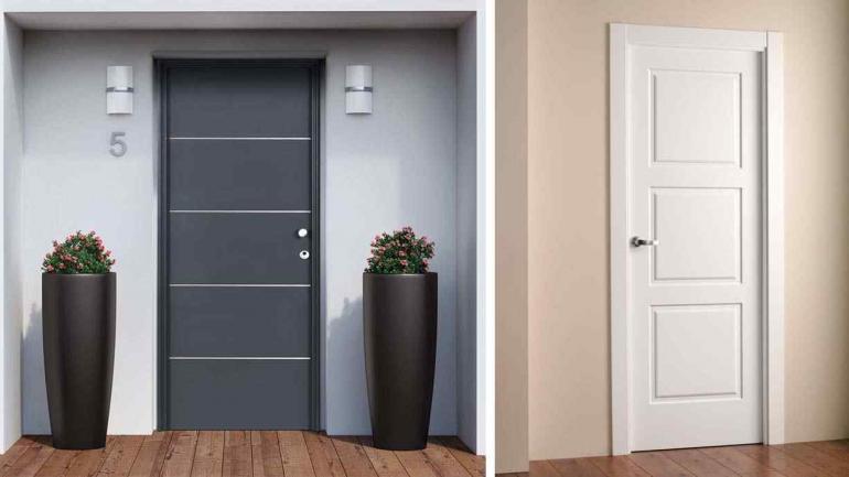 C mo elegir puertas para tu casa noticias al instante for Puertas acristaladas interior