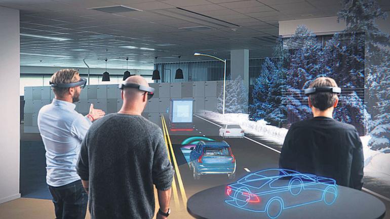 Volvo anunció que progresivamente sustituirá los coches por modelos de realidad virtual en sus concesionarios.