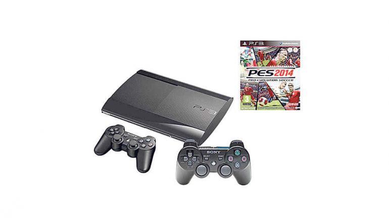 Consola PS3 250 Gb + PES 2014 + DS3 - Sony. Modelo de Consola: PlayStation 3 Cantidad de Joystick: 2 Conectividad de Joystick: Wireless. Incluye Juegos (Bundle). Conectividad: Salida HDMI, Wi-Fi. Origen: China. Garbarino.