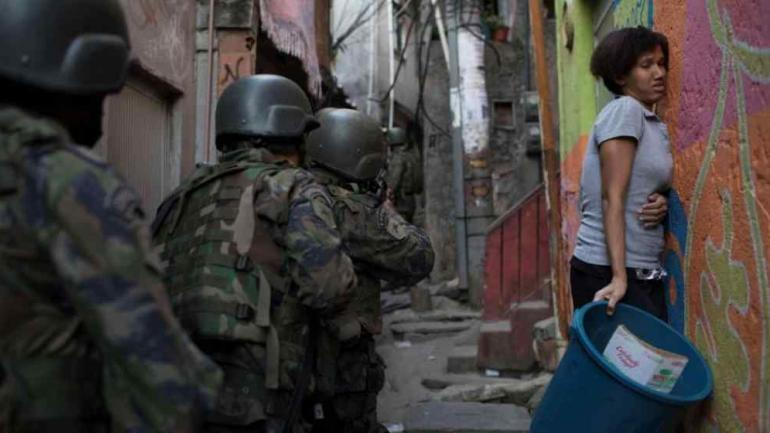 RÍO DE JANEIRO. Crece la inseguridad en esa ciudad de Brasil (AP/Archivo).