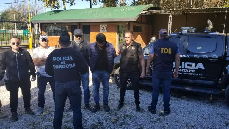 Capturado. El prófugo fue atrapado en Villa Gobernador Gálvez. (La Voz)