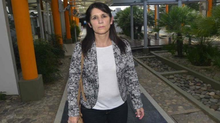ROSA SABENA. La abogada del empleado desafectado del servicio penitenciario (La Voz/Archivo).