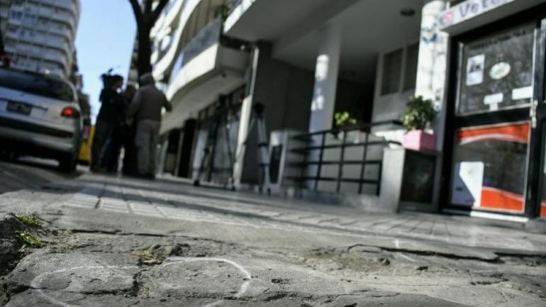 ROSARIO. El edificio baleado (Rosario Plus).