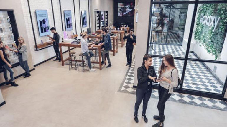 LOCAL INTELIGENTE. Se inauguró en Buenos Aires la primera Samsung House del país. (Gentileza de Samsung.com)