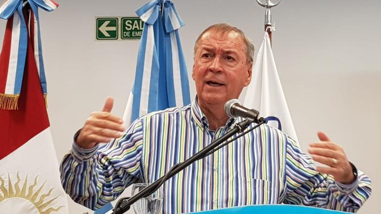 RÍO CUARTO. Juan Schiaretti, gobernador de Córdoba (Tomás Fragueiro/La Voz):