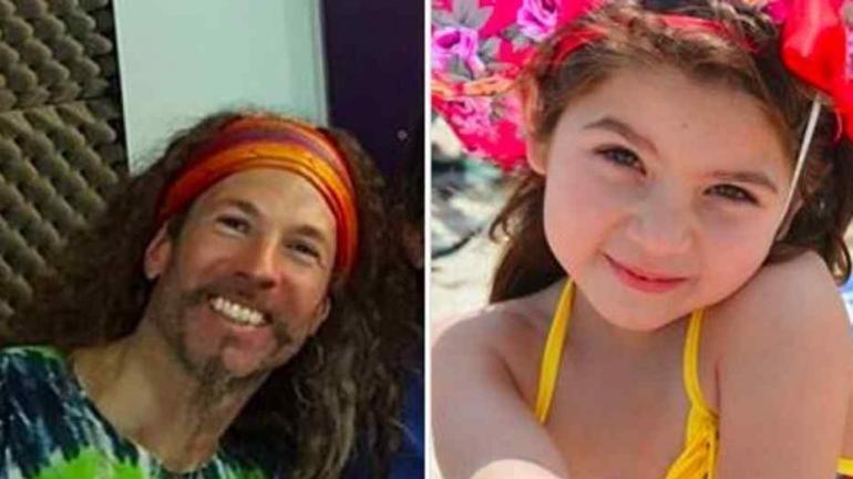 A la izquierda, el padre de la niña. A la derecha, la pequeña Alum (Foto: Familia Avalos)