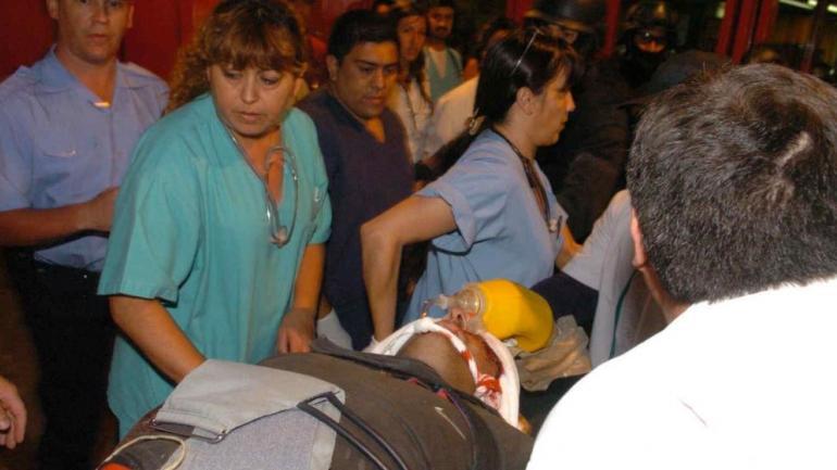 Agonía. El 28 de diciembre a la noche, Sajen fue ingresado en el Urgencias con muerte cerebral. (La Voz/Archivo)