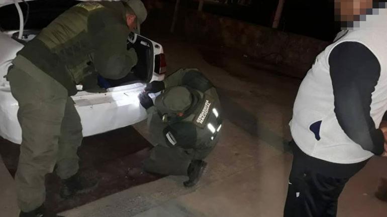 OPERATIVO. En Salta (Gendarmería Nacional).