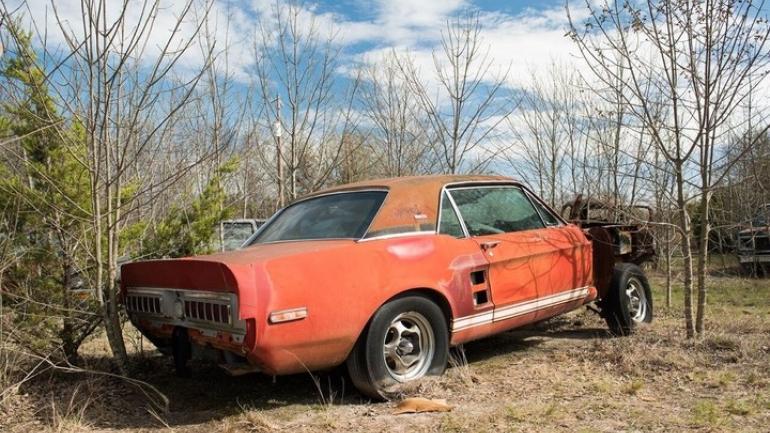 El auto es un Shelby GT500 de 1967. (Barrett-Jacksons)