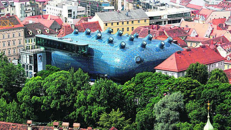 Kunsthaus de Graz.