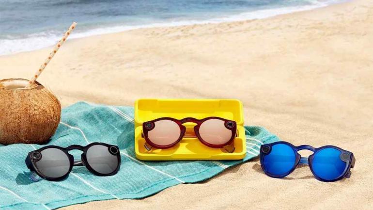 Spectacles. Snapchat lanzó la actualización de sus lentes, esta vez son resistentes al agua. (xataka)