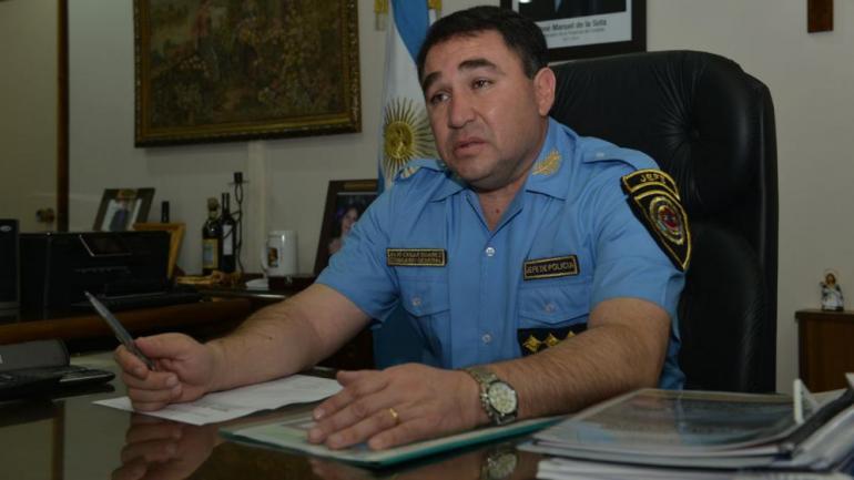 CÓRDOBA. El exjefe de la Policía de Córdoba, Julio César Suárez (La Voz/Archivo).