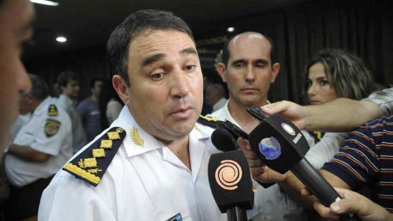 El exjefe de la Policía de Córdoba, Julio César Suárez (La Voz/Archivo).