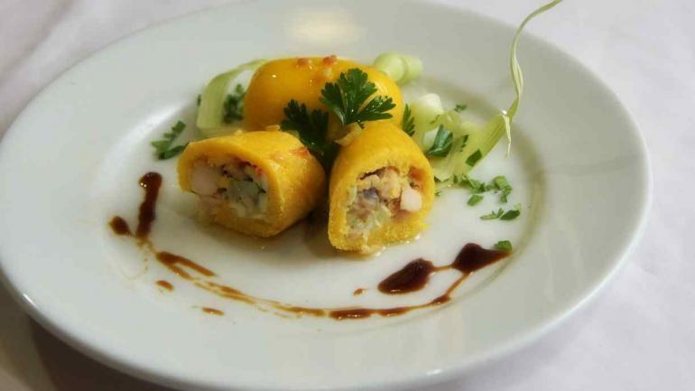 Tamales de pollo. Otra opción para comer carne en forma picada. (Archivo / La Voz)