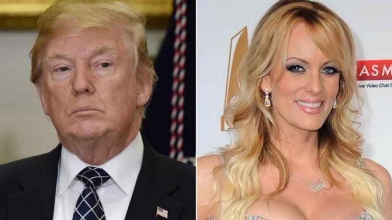 """Trump y """"Stormy Daniels""""."""