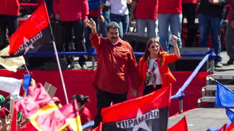 RUMBO A MAYO. Nicolás Maduro, presidente de Venezuela (AP/Archivo).