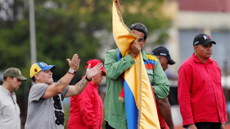 VENEZUELA. El domingo hay elecciones (AP).