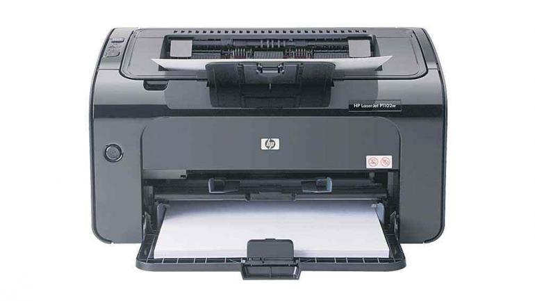Impresora láser Hewlett-Packard Laserjet PRO.