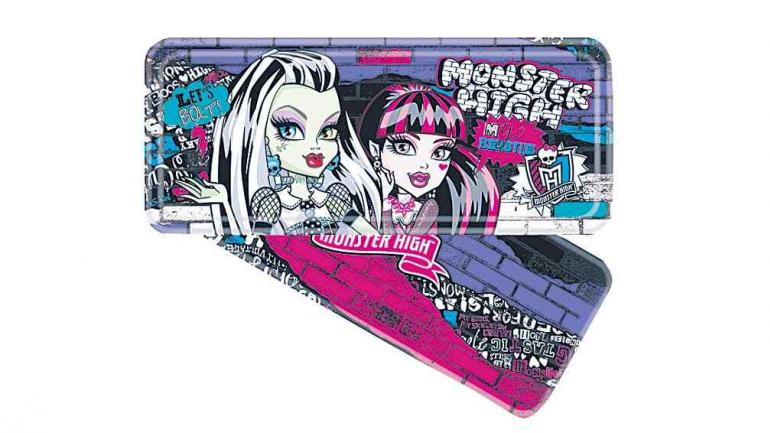 Cartucheras Monster High.