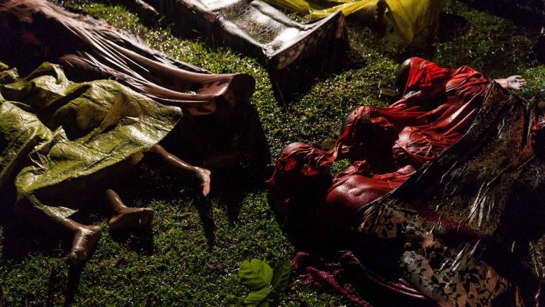 """MYANMAR. El fotoperiodista Patrick Brown, ganador del primer premio de la categoría """"General News"""". (AP)"""