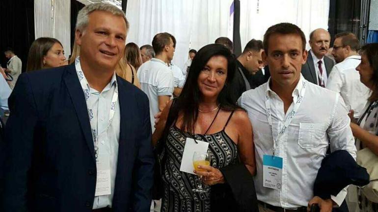 CAMBIEMOS. Gabriel Frizza, Laura Rodríguez Machado y Juan Negri también estuvieron en Fiat (La Voz).