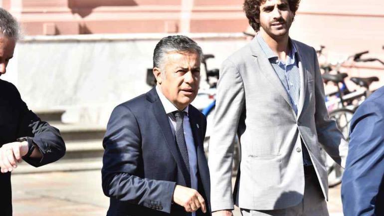 CORNEJO. Presidente de la UCR (Federico López Claro / La Voz).