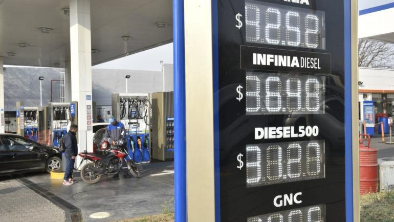 Así quedaron los precios en YPF (Ramiro Pereyra/LaVoz).