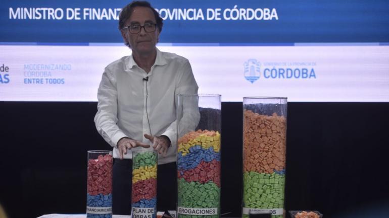 OSVALDO GIORDANO. El ministro de Finanzas, en la Legislatura. (P. Castillo / La Voz)