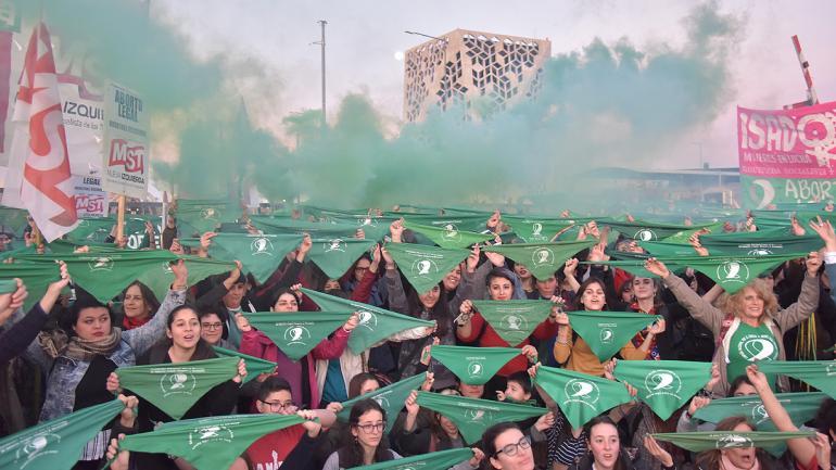 ABORTO LEGAL. La marcha del martes en Córdoba (Facundo Luque).