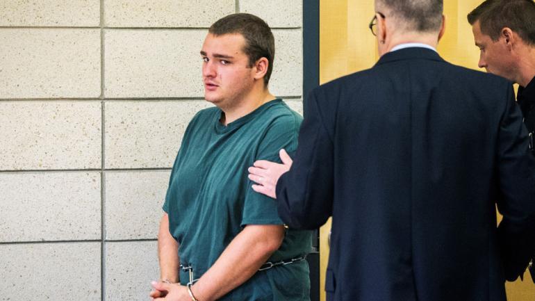 RICHARDS. El acusado (Kelsey Kremer/The Des Moines Register vía AP).