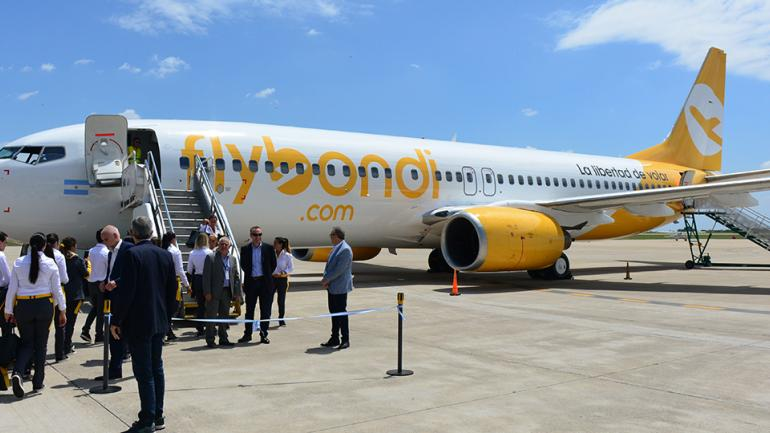 LOW COST. En cuatro años el aeropuerto Taravella duplicó su tráfico y ahora suma aerolíneas de bajo costo. (Archivo La Voz)