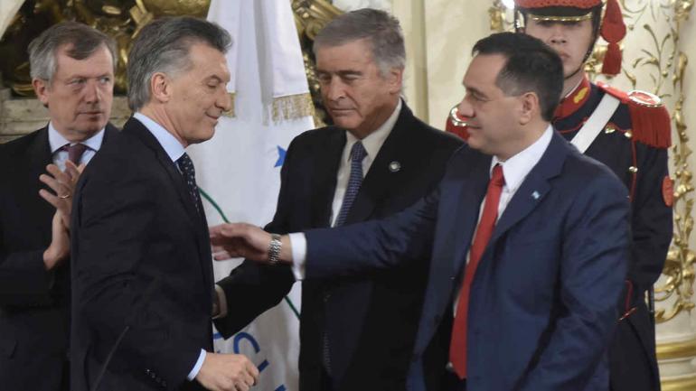OSCAR AGUAD. Nuevo ministro de Defensa (DyN).